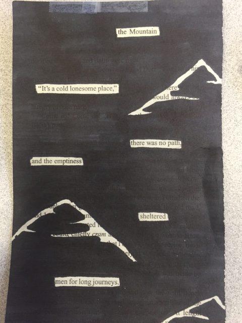 Librarians Choice Best Artistic Poem Ryan S. / Grade 7